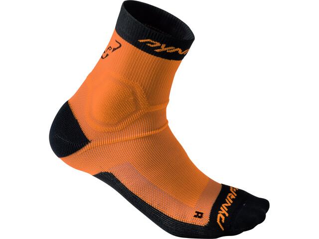 Dynafit Alpine Short Socks Damen fluo orange
